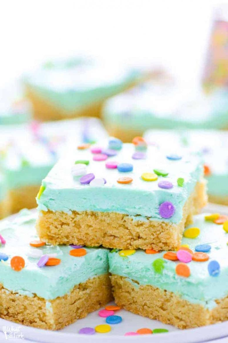Gluten Free Sugar Cookie Bars Recipe - Simple Recipes Gluten Free