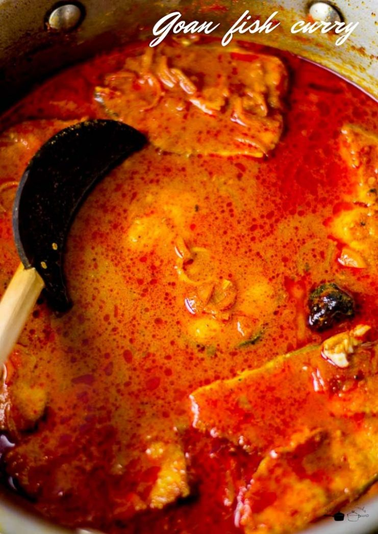Goan Fish Curry - Kannamma Cooks - Fish Recipes North Indian Style