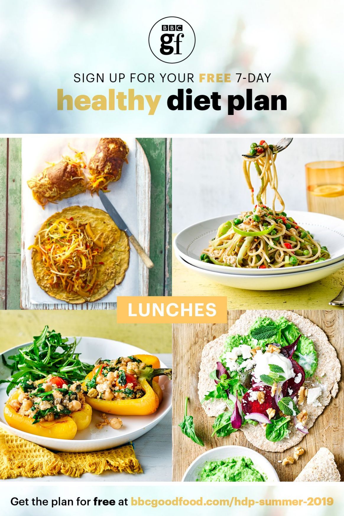 Good Food's Healthy Diet Plan – Summer 8 | Healthy recipes in ...