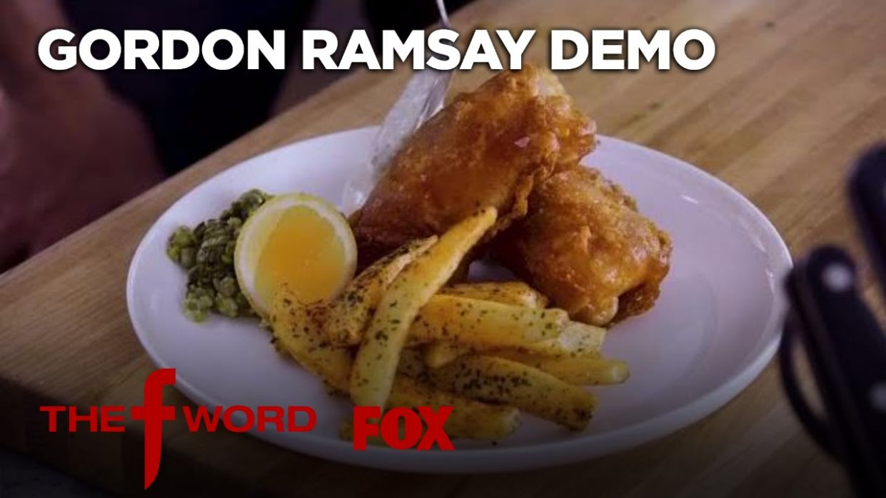 Gordon Ramsay Demonstrates How To Make Fish & Chips: Extended Version |  Season 12 Ep. 12 | THE F WORD