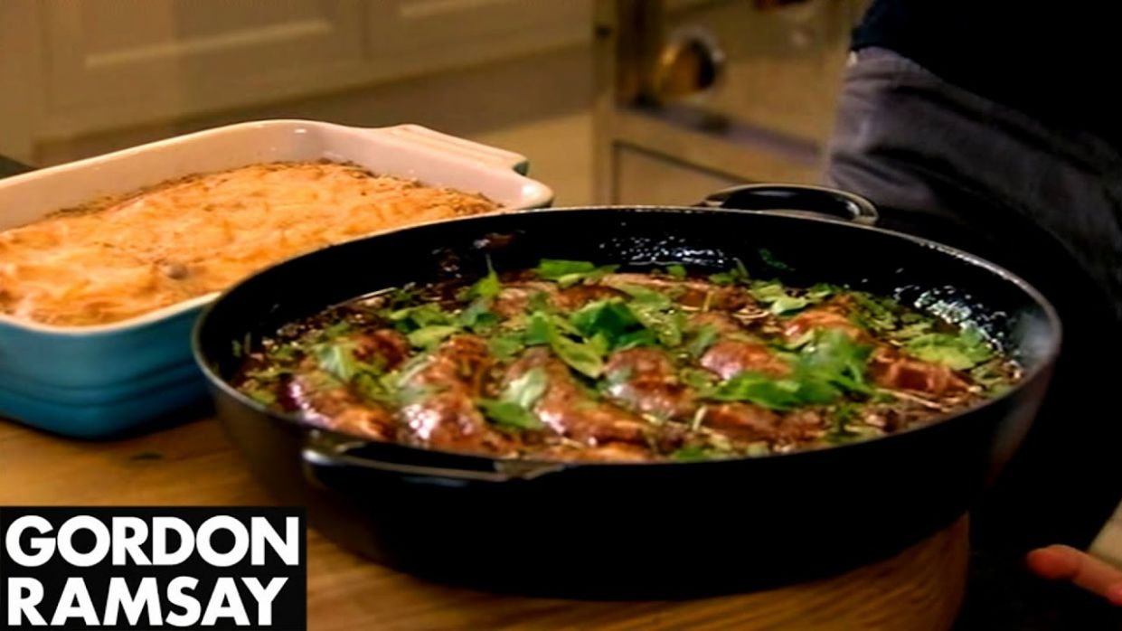 Gordon Ramsay's Sausage Hotpot & Apple Compote Recipes