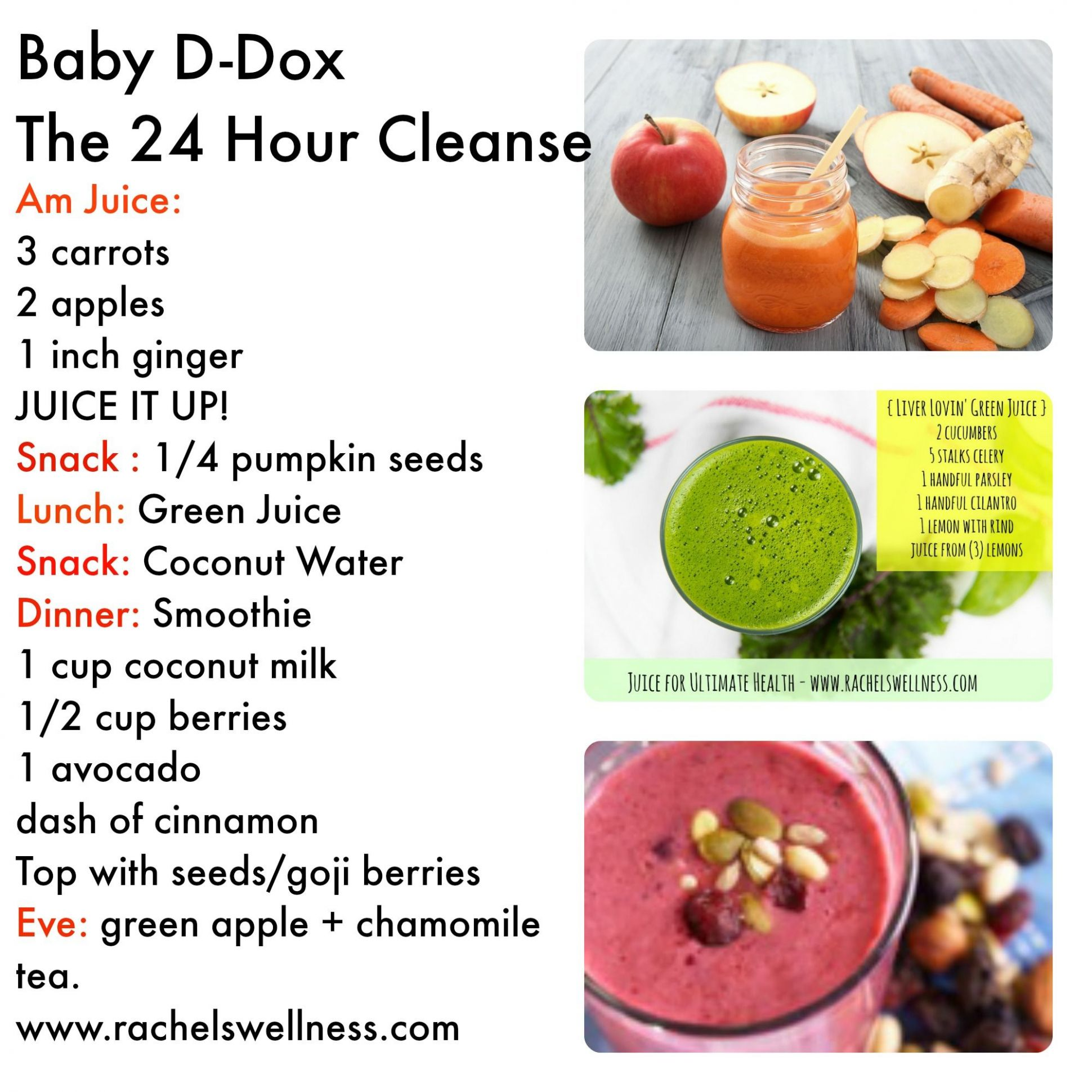 Grab you LIQUID 10 hour detox - simple and easy. For a more ..