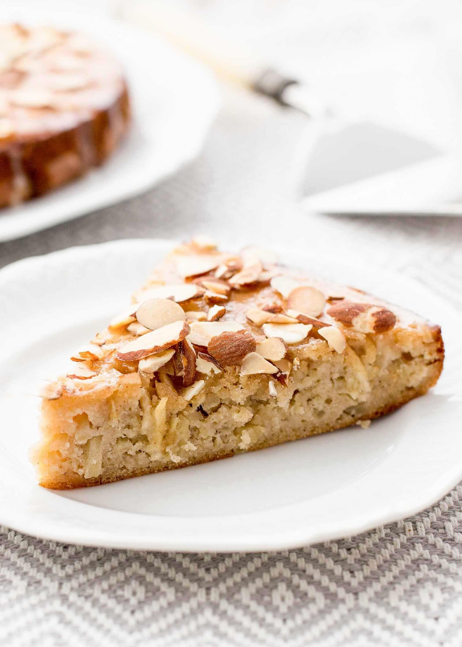Grain-Free Apple Honey Cake - Cake Recipes Almond Meal