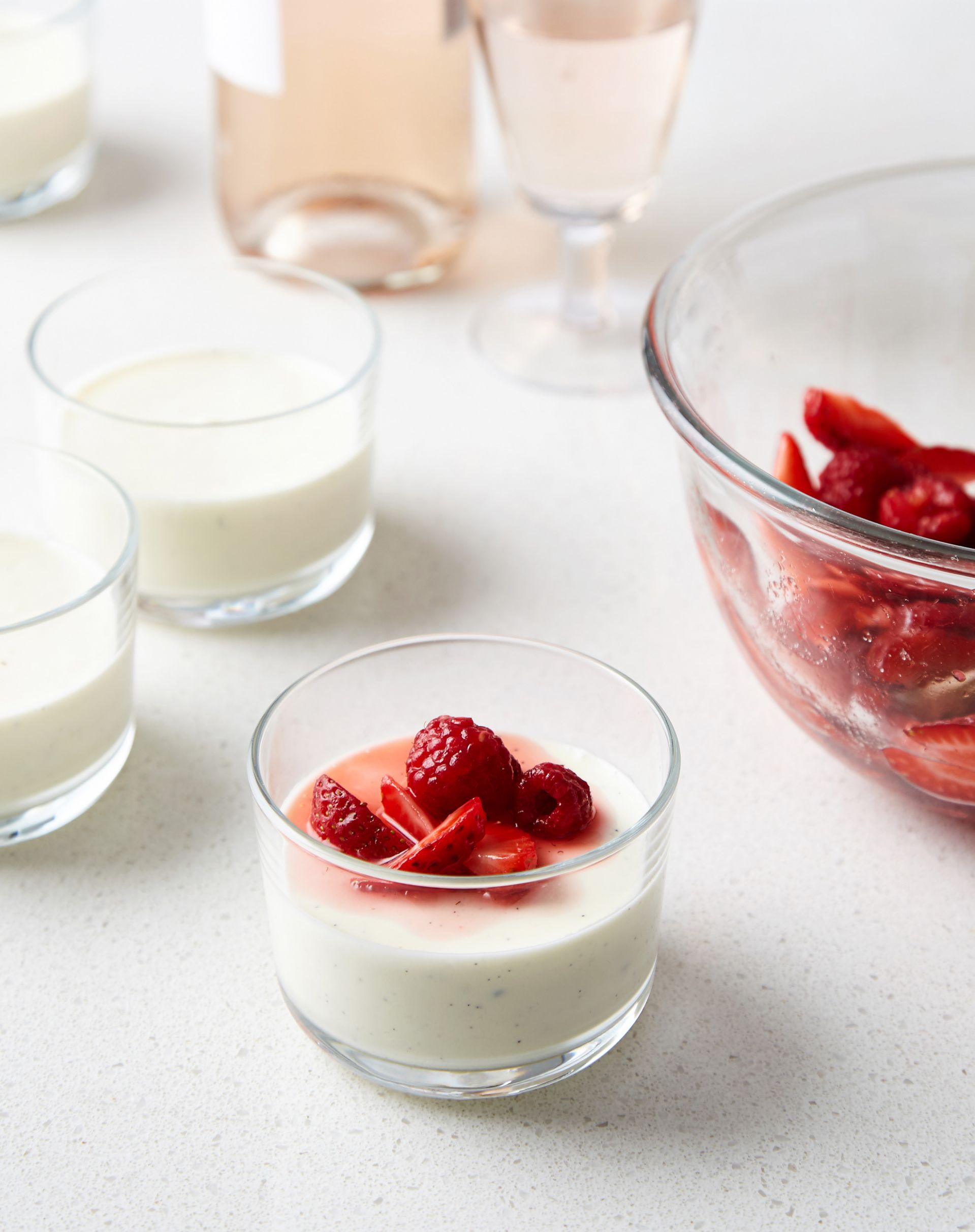 Greek Yogurt Panna Cotta