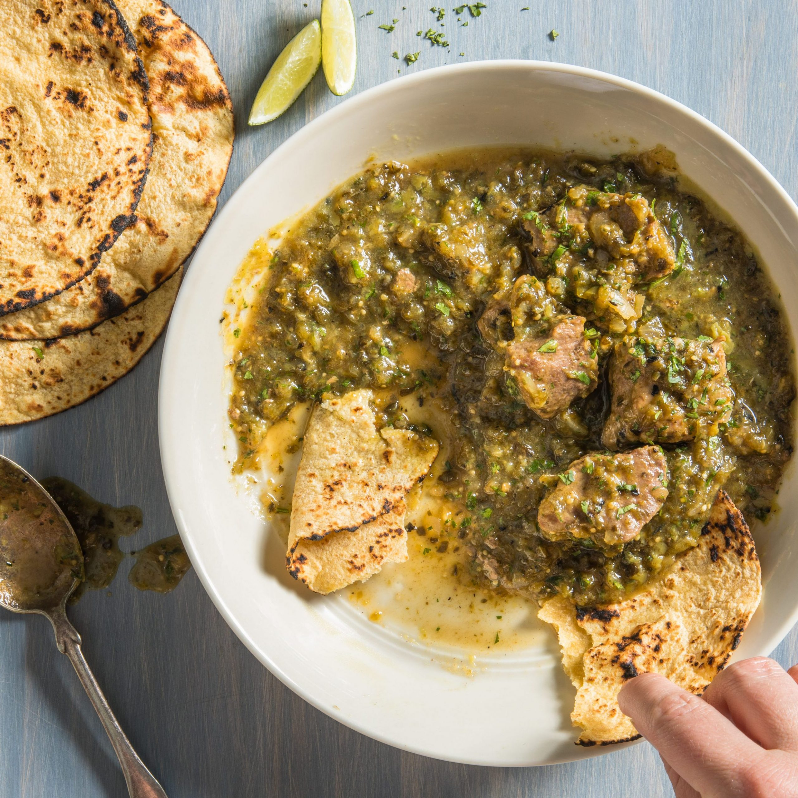 Green Chili with Pork (Chile Verde Con Cerdo)