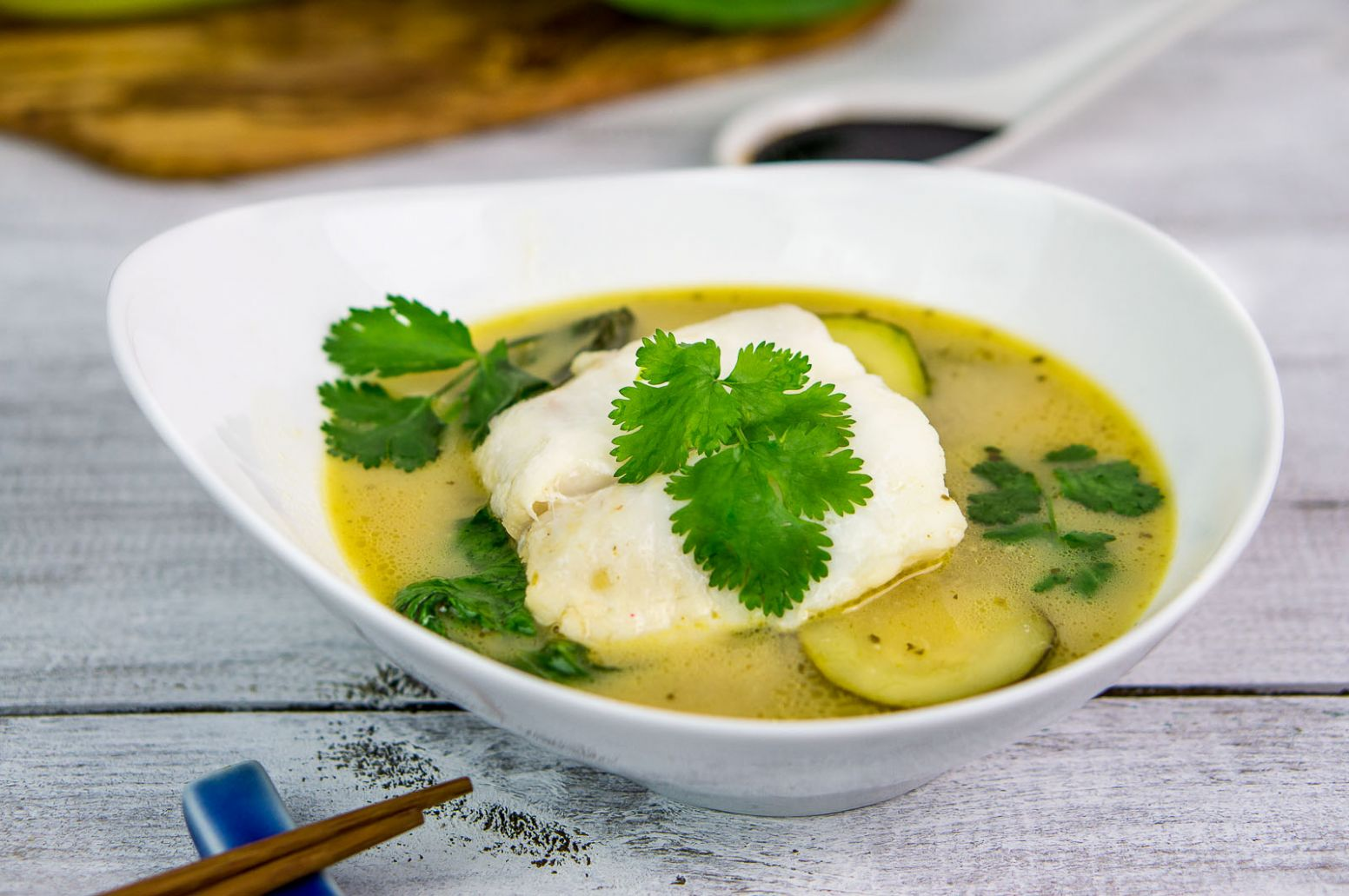 Green fish curry - Recipe Fish Green Curry