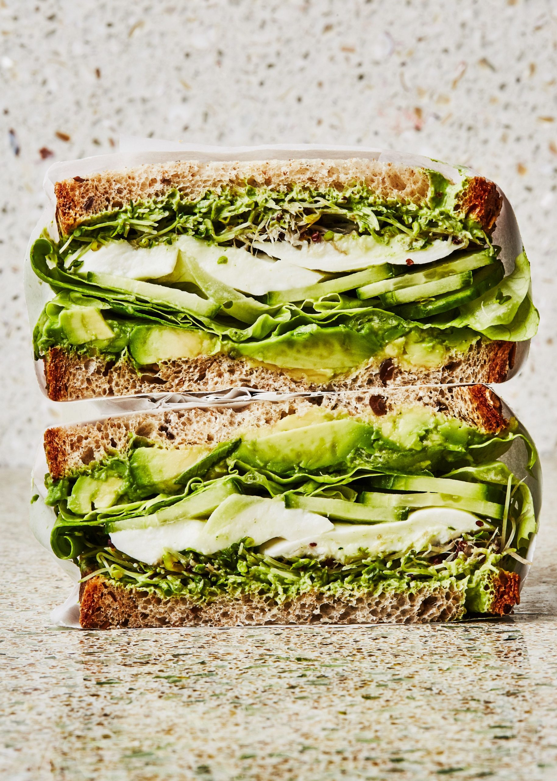 Green Goddess Crunch Sandwich - Sandwich Recipes Epicurious