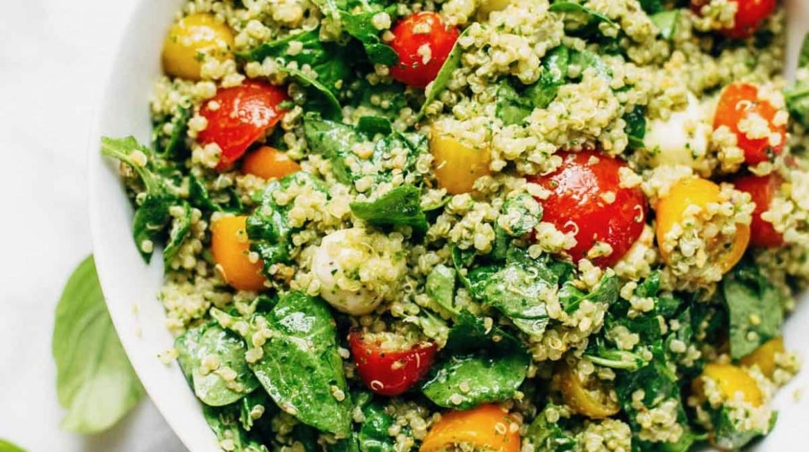 Green Goddess Quinoa Summer Salad - Salad Recipes For Summer