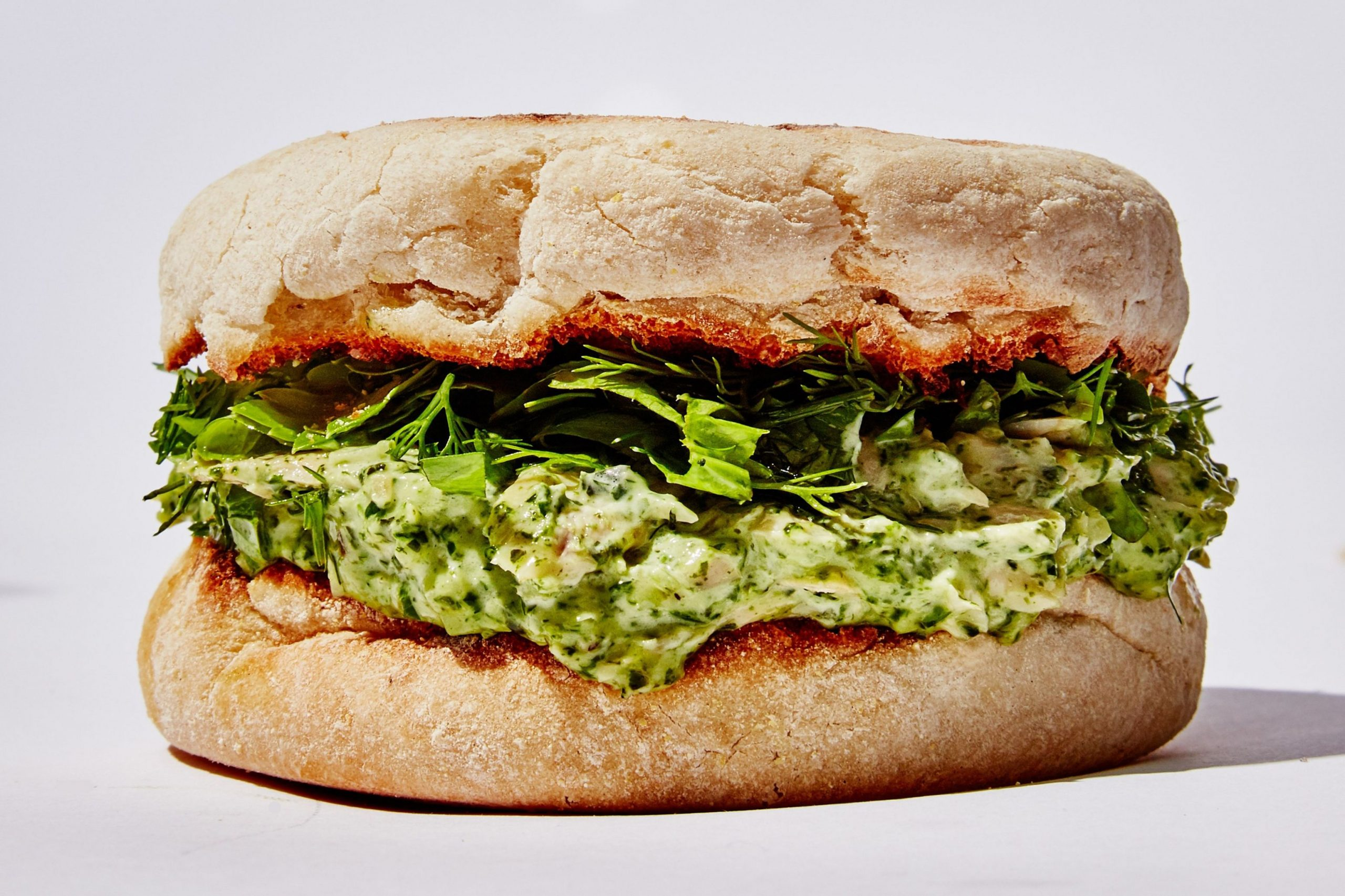 Green Goddess Tuna Salad Sandwich - Sandwich Recipes Epicurious