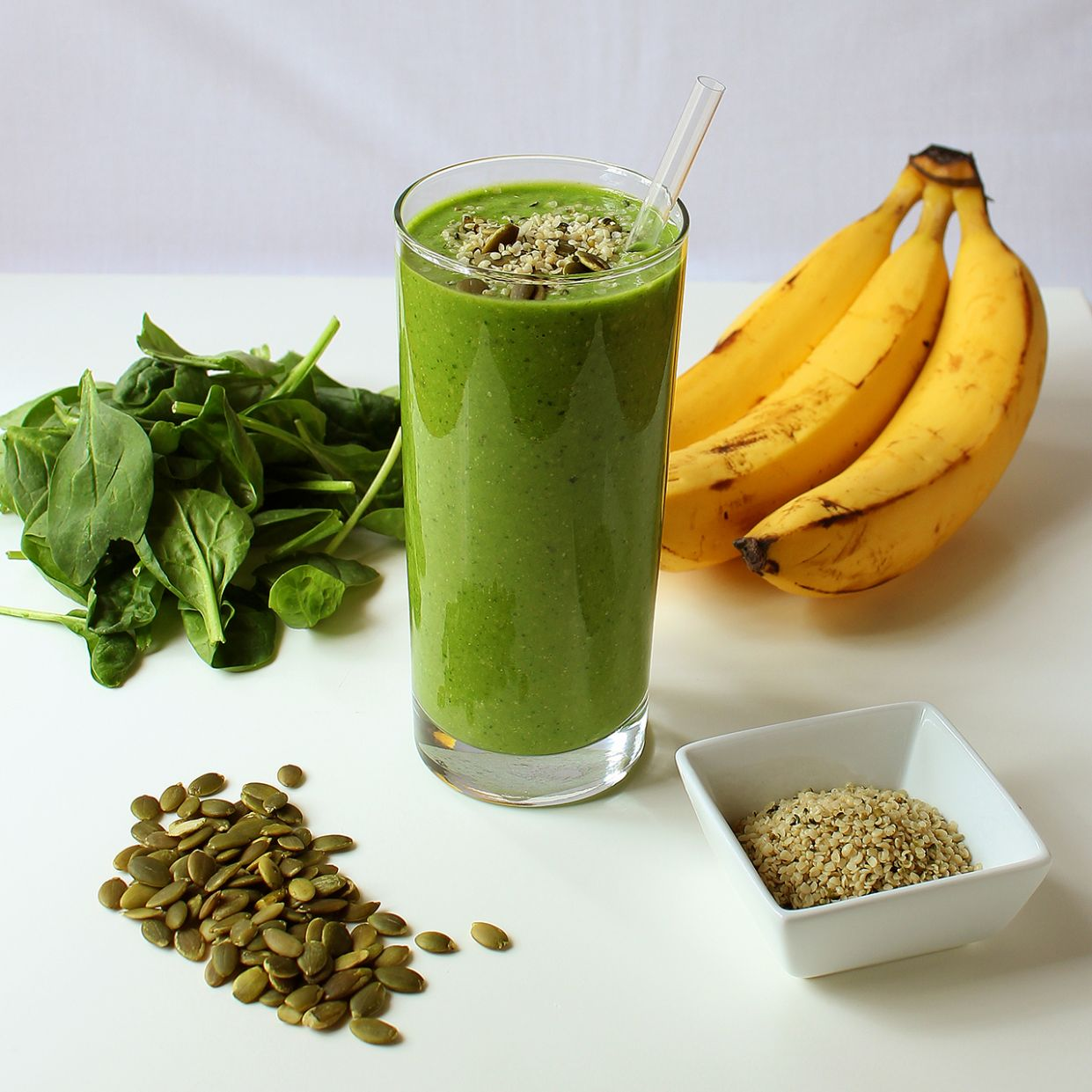 Green Protein Power Breakfast Smoothie » I LOVE VEGAN - Recipes Vegetable Smoothies