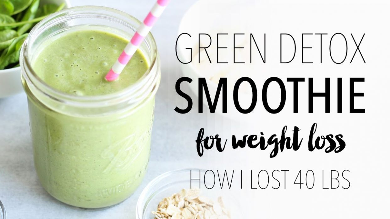 GREEN SMOOTHIE RECIPE FOR WEIGHT LOSS | Easy & Healthy Breakfast Ideas! - Smoothie Recipes For Weight Loss And Detox
