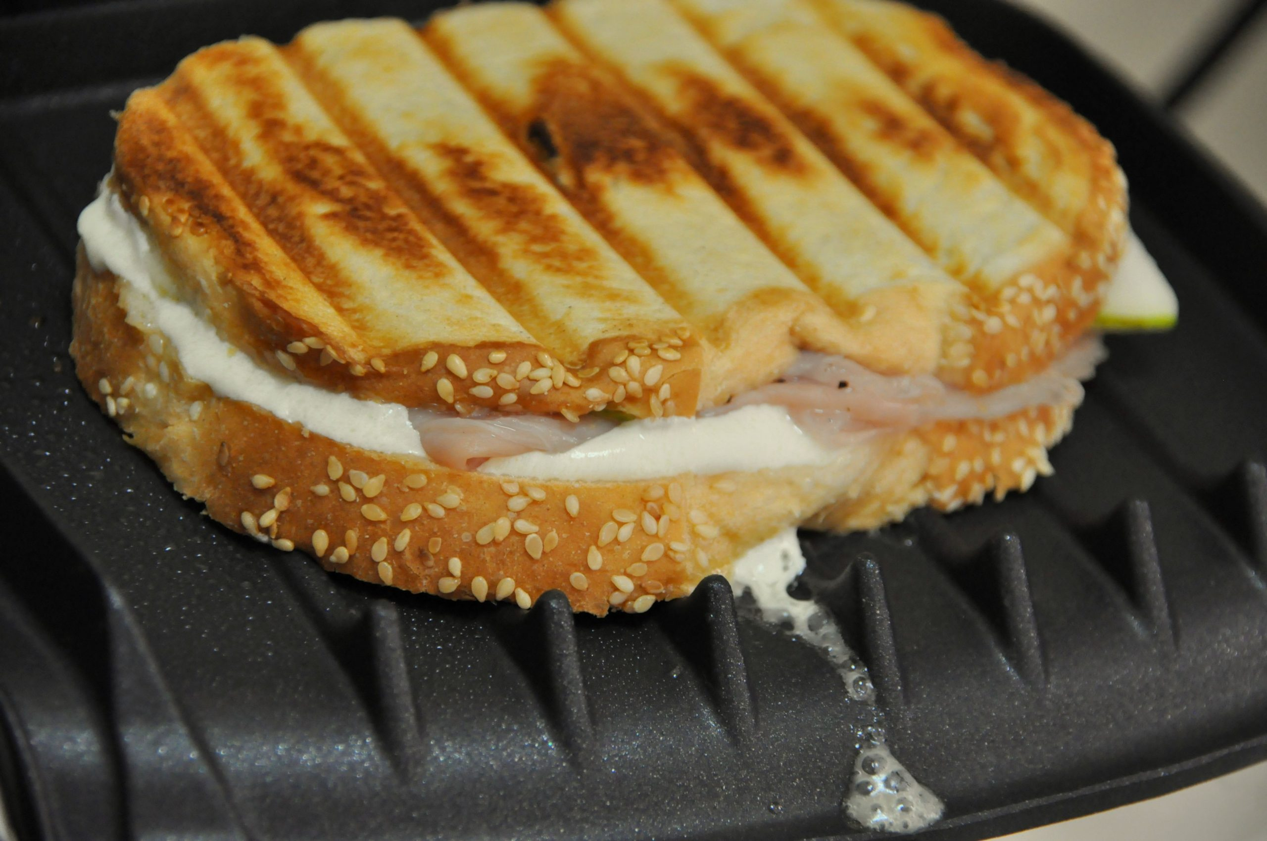 Grilled Cheese on George Foreman Grill Recipe