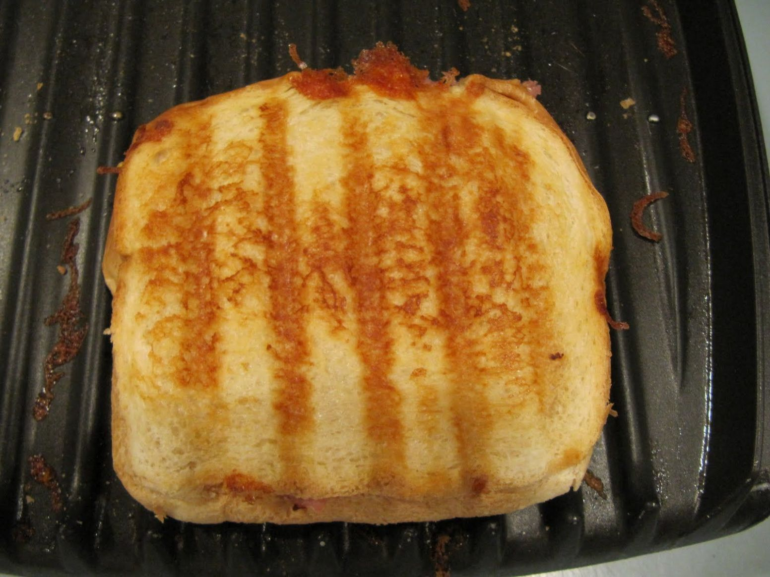 Grilled Cheese with a George Foreman Grill | George foreman recipes