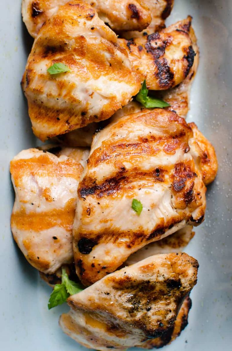 Grilled Chicken Breast (Video) - Video How to Grill Chicken Breast ...