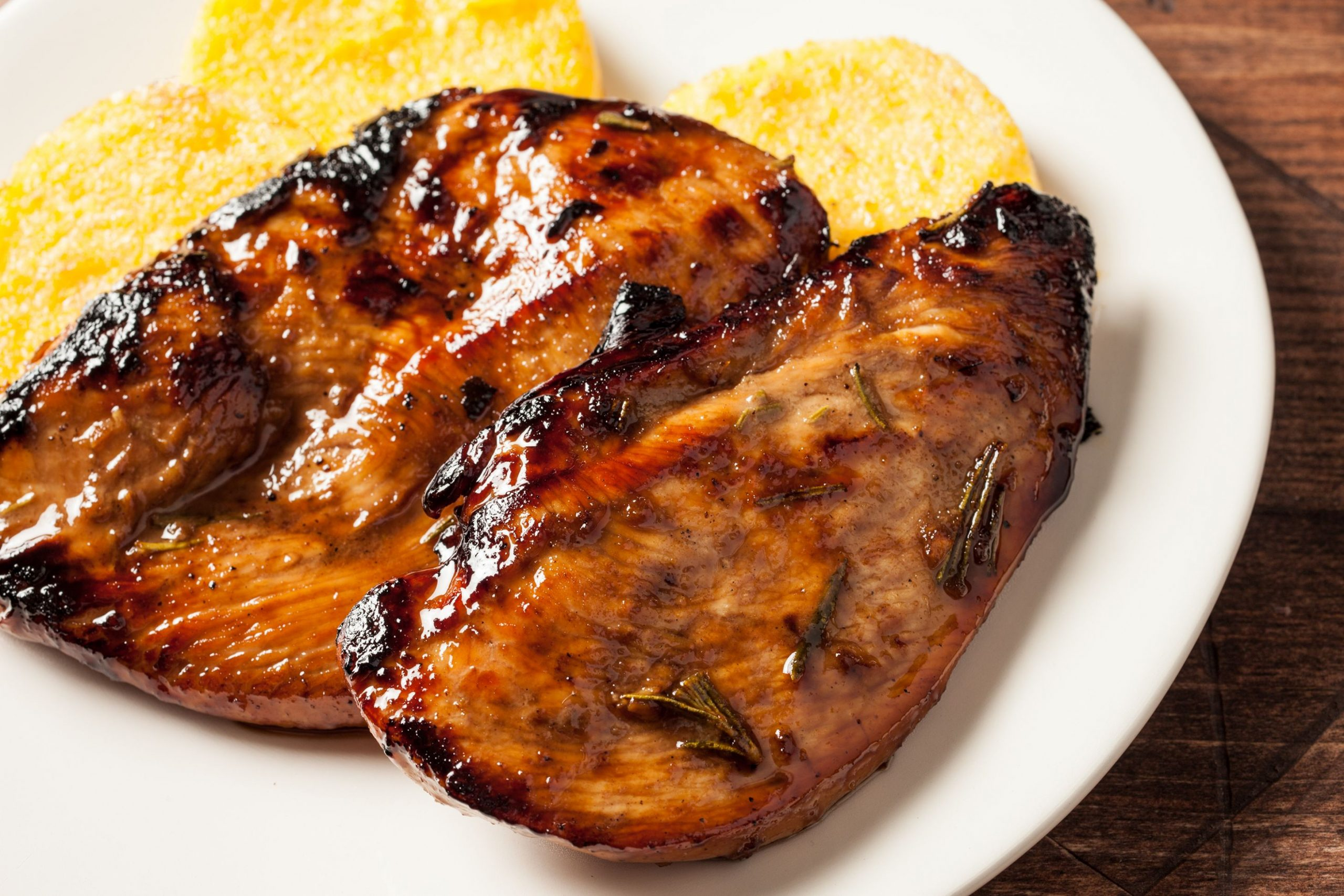 Grilled Chicken Breasts with Balsamic Rosemary Marinade