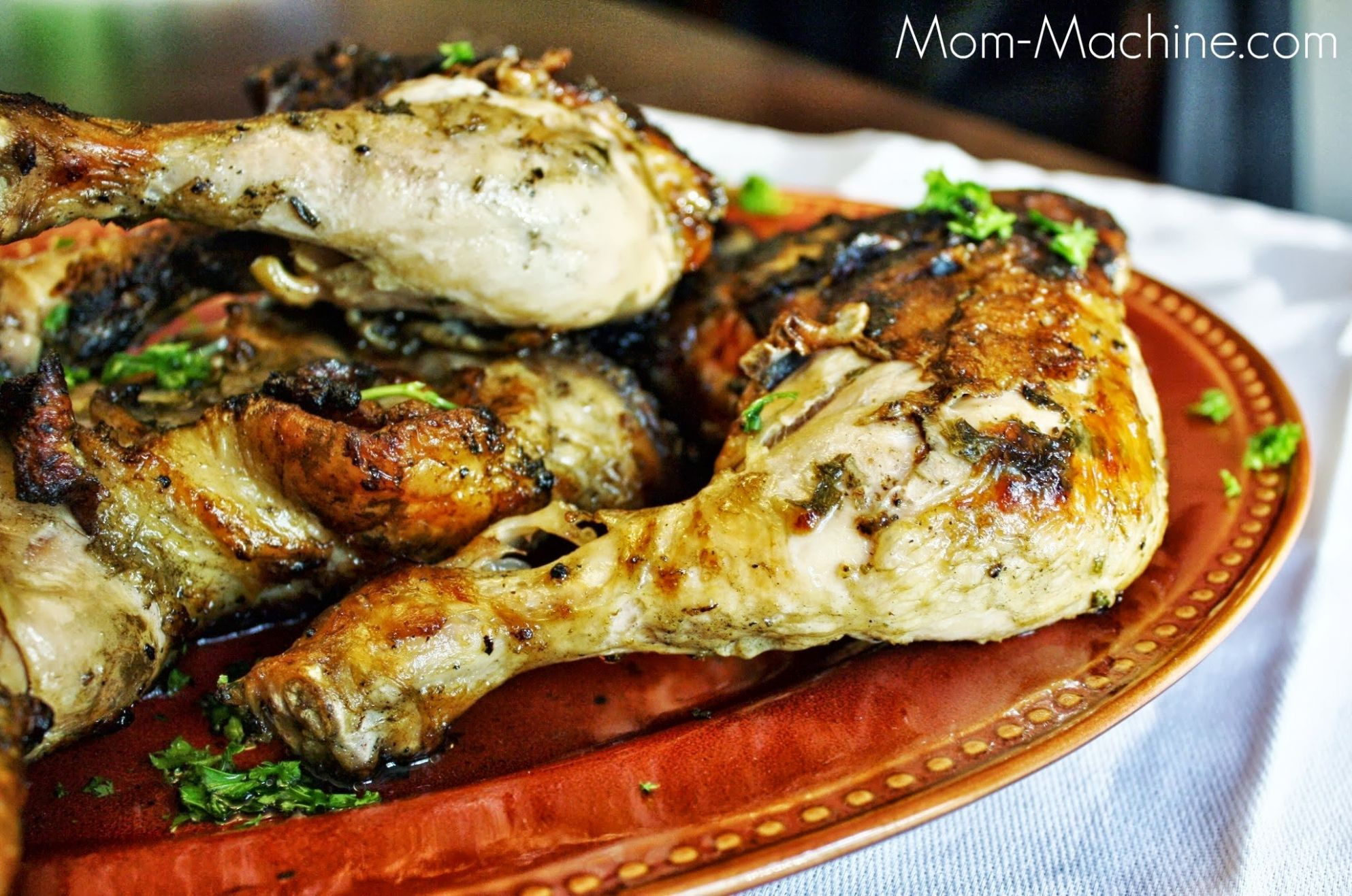 Grilled Chicken Leg Quarters with Lime Dressing - Recipes Chicken Quarters