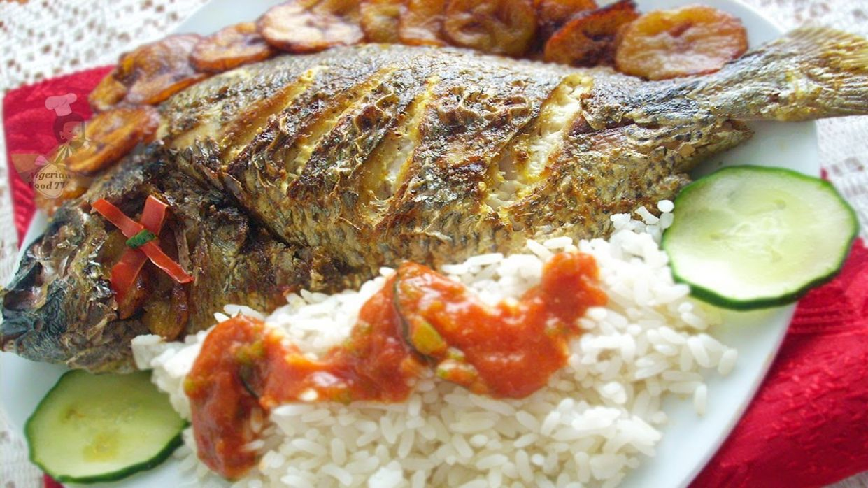 Grilled Fish (grilled tilapia fish) | Nigerian food recipes - Fish Recipes Youtube