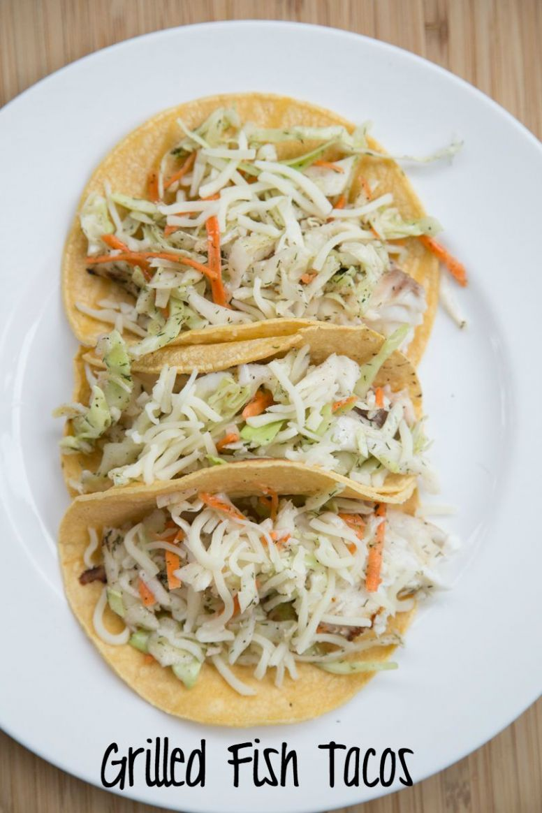 Grilled Fish Tacos & Slaw - Recipe Fish Tacos Slaw