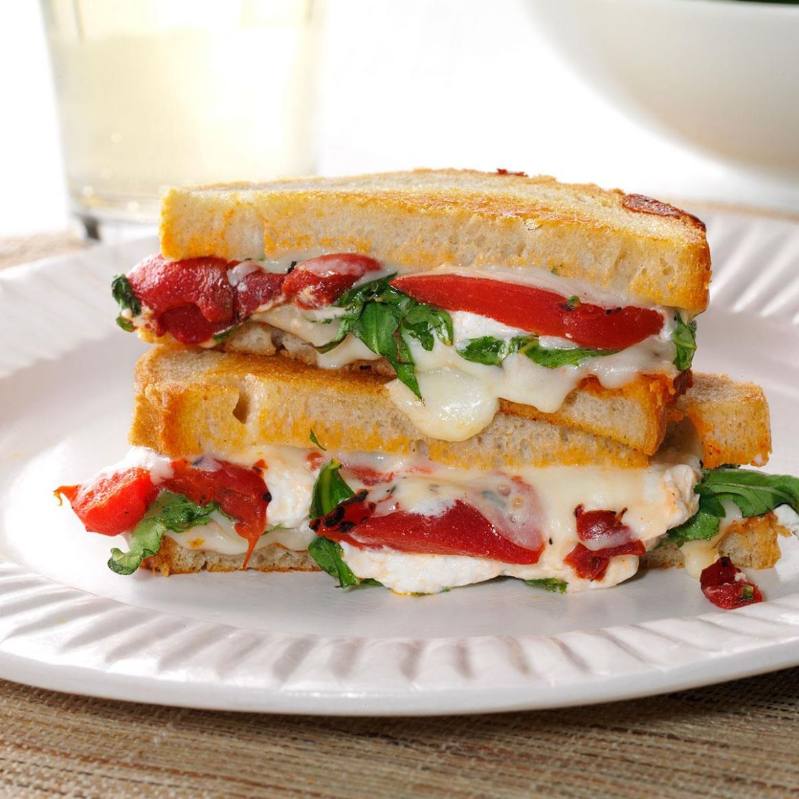 Grilled Goat Cheese & Arugula Sandwiches - Sandwich Recipes Yummy