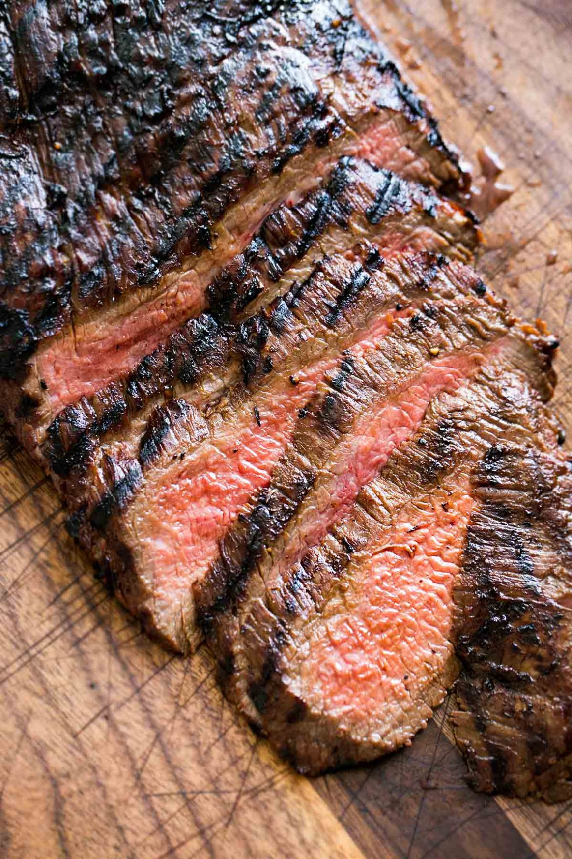 Grilled Marinated Flank Steak - Simple Recipes Grilled Marinated Flank Steak