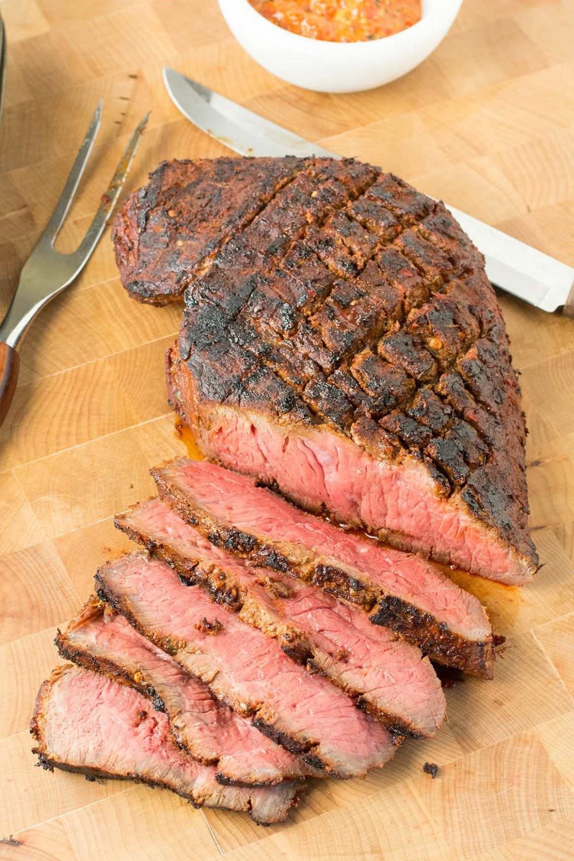 Grilled Marinated London Broil Recipe