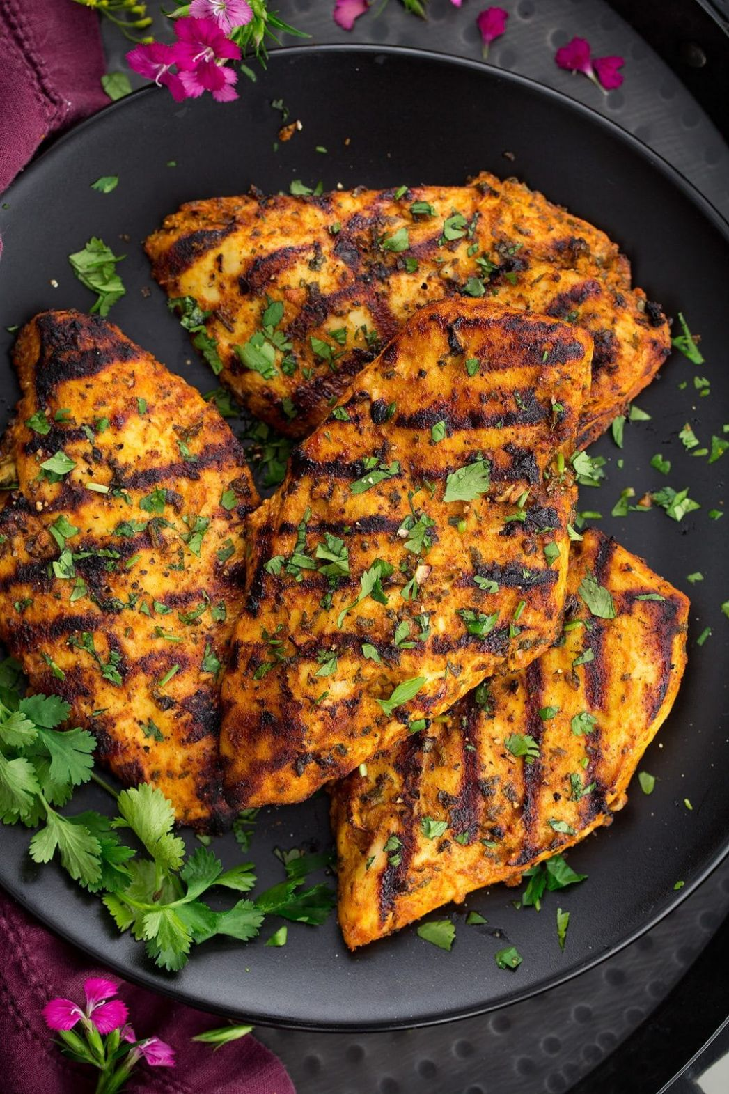 Grilled Moroccan Chicken - Recipe Chicken Breast Grilled