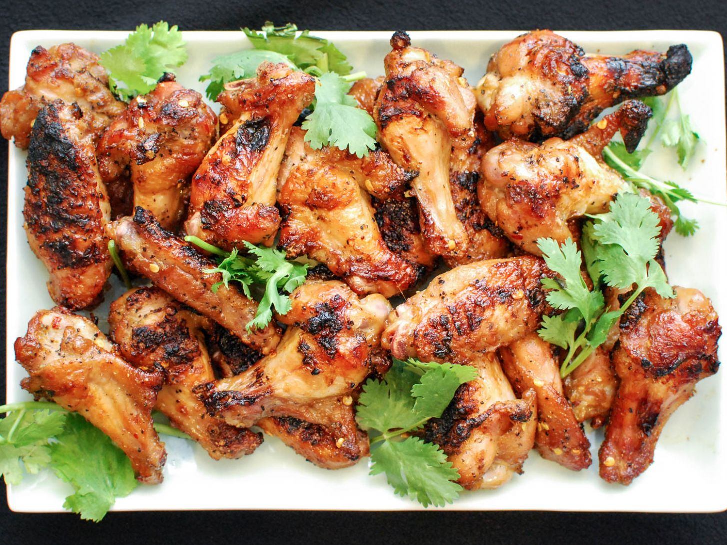 Grilled Spicy Chicken Wings With Soy and Fish Sauce Recipe - Recipes Using Fish Sauce