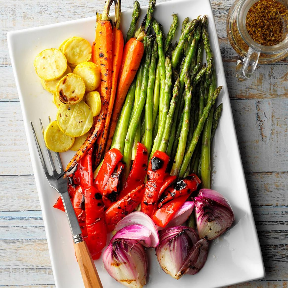 Grilled Vegetable Platter - Vegetable Recipes Grill
