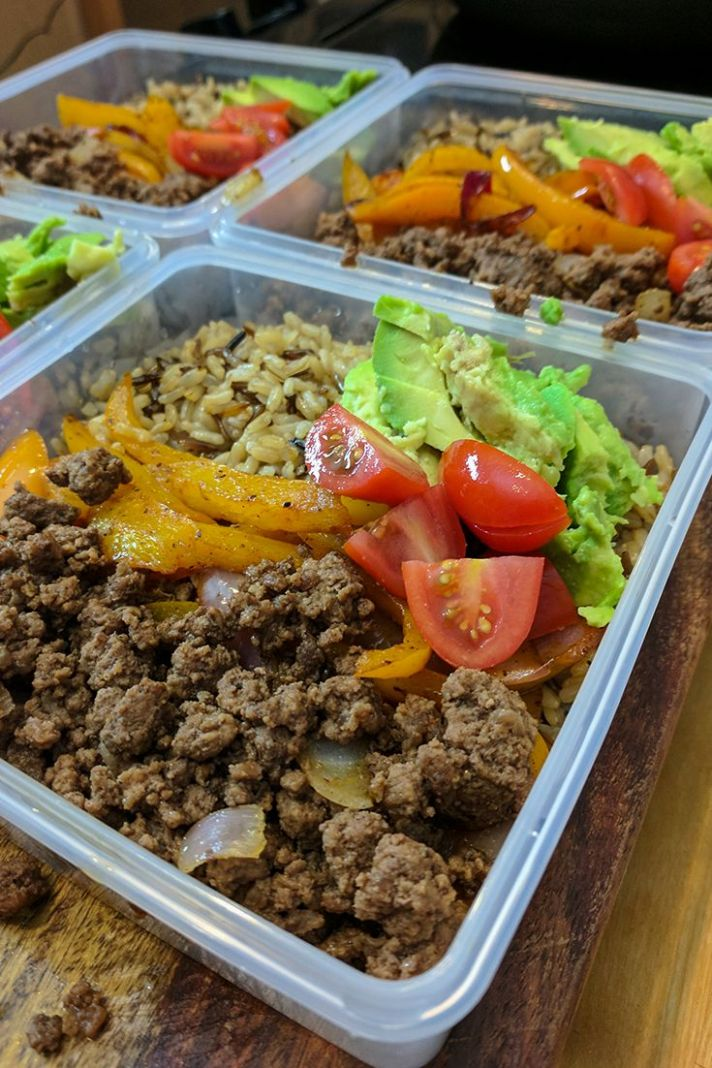 Ground Beef Fajita Bowl