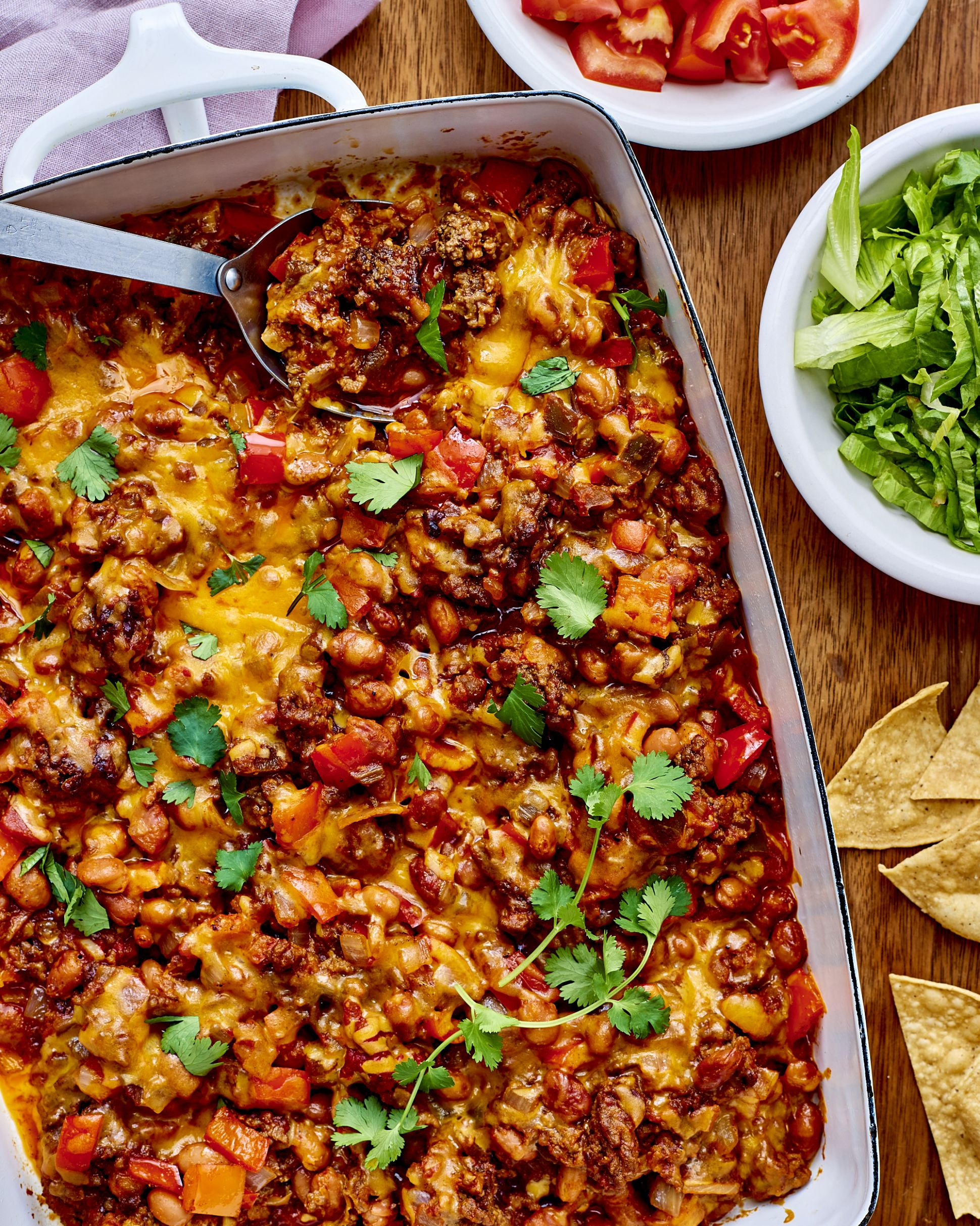 Ground Beef Taco Casserole - Easy Recipes Made With Ground Beef