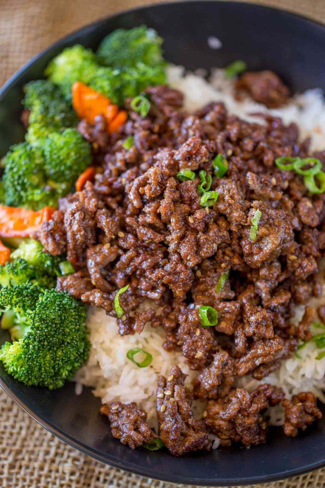 Ground Mongolian Beef - Recipes Rice Ground Beef