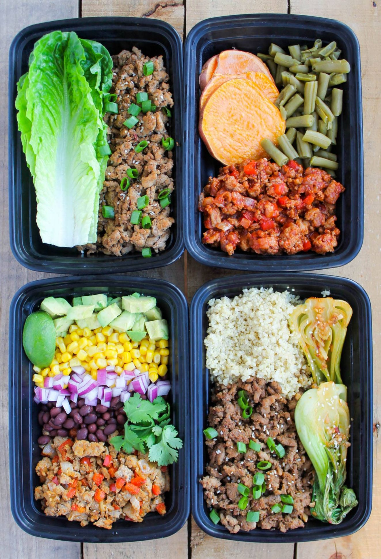 Ground Turkey Meal Prep Bowls: 12 Ways - Simple Recipes Meal Prep