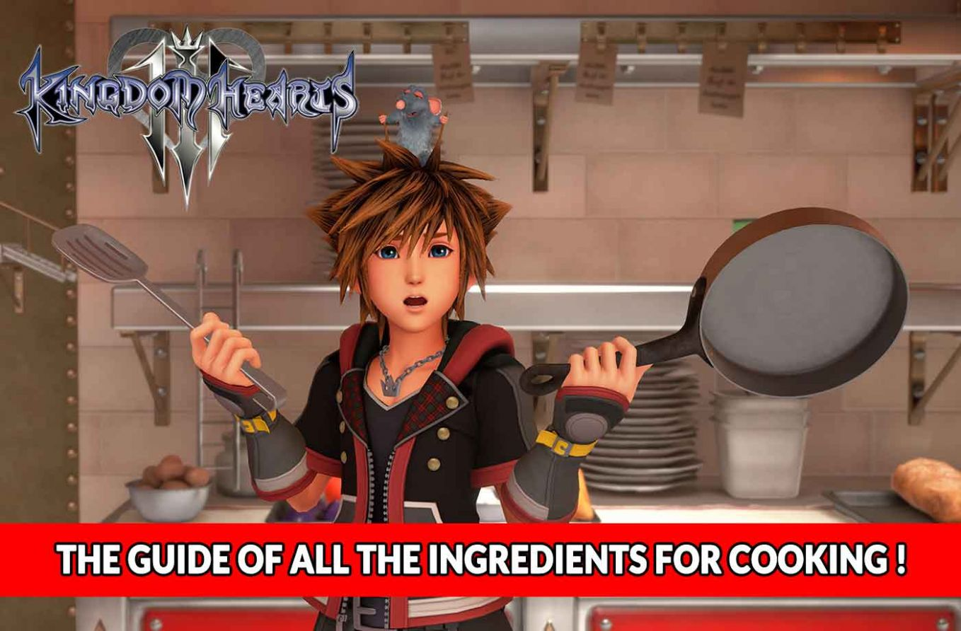 Guide Kingdom Hearts 10 – where to find all the ingredients for ...