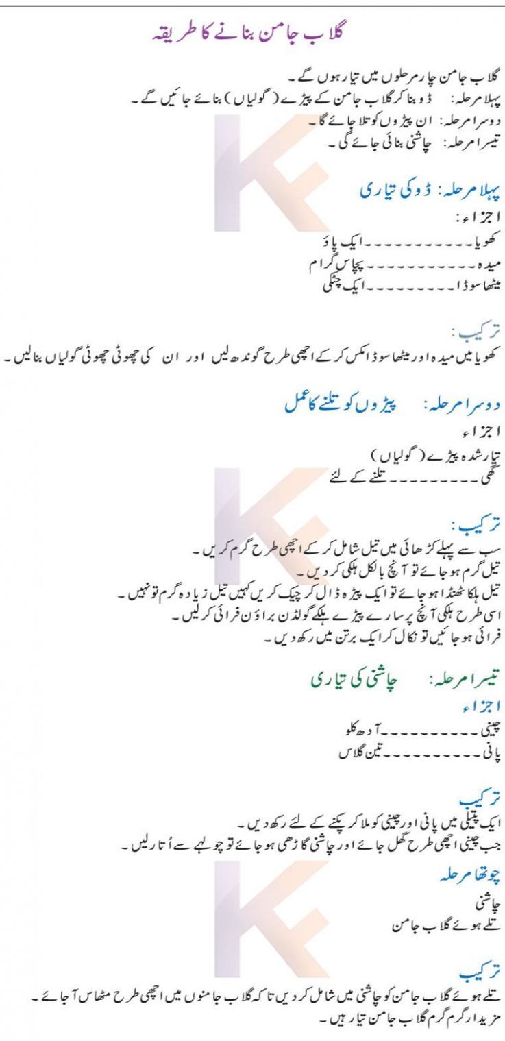 Gulab Jamun Recipe (Urdu & English) Pakistani Gulab Jamun Step By Step