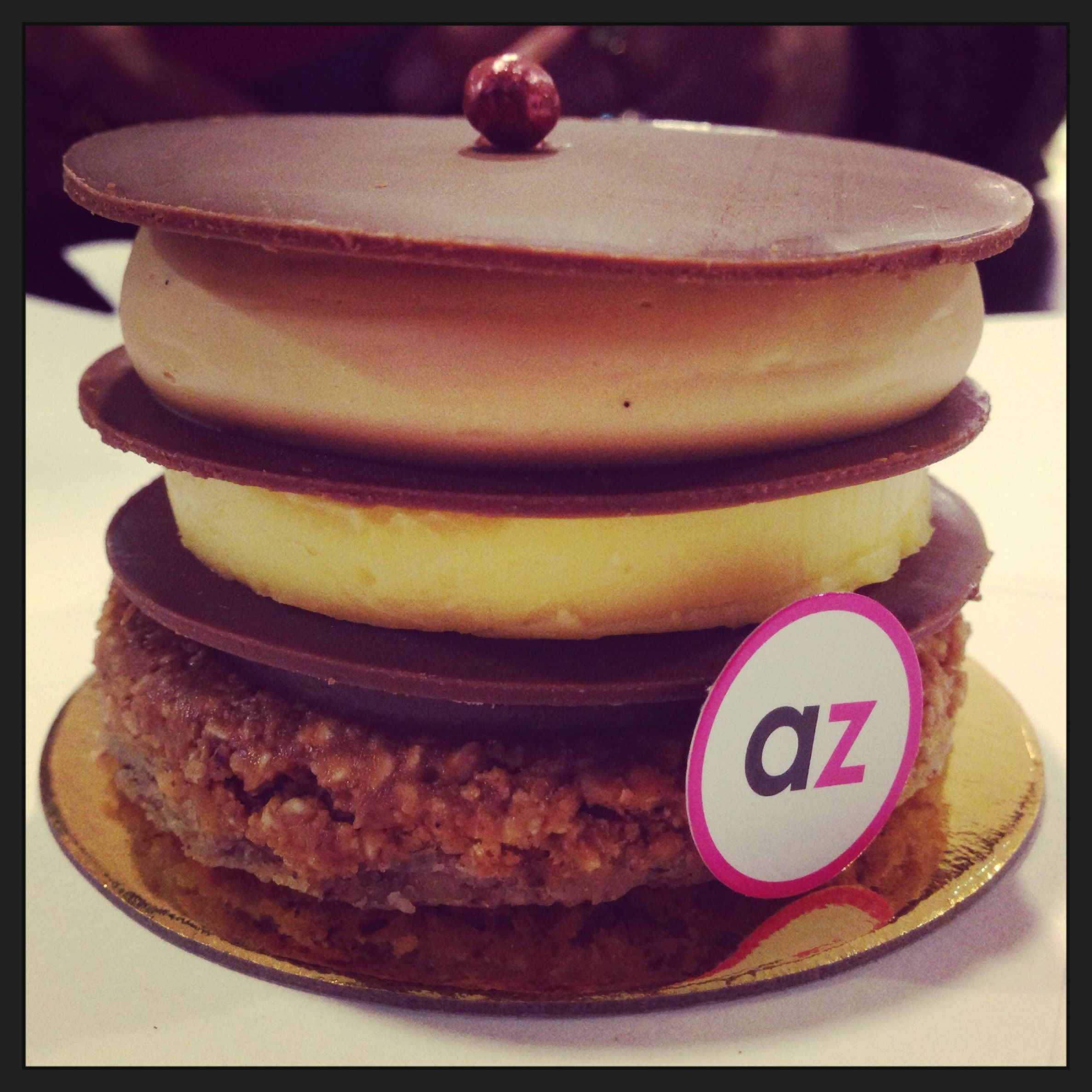 Had this Adriano Zumbo Dessert forget the name of it, but it was ...