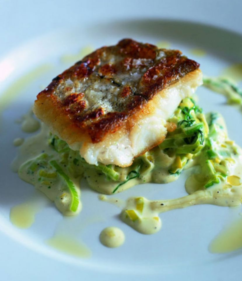 Haddock with creamed Leeks | Mitch Tonks - Seafood ambassador ..