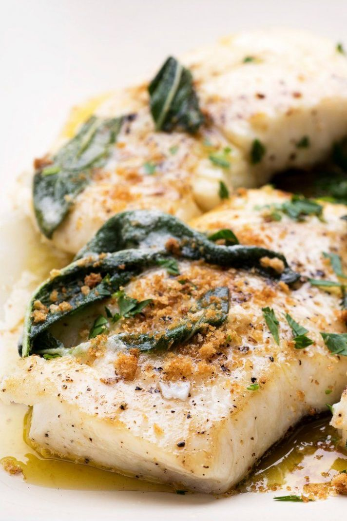 Halibut With Brown Butter, Lemon and Sage | Recipe | Recipes, Nyt ...