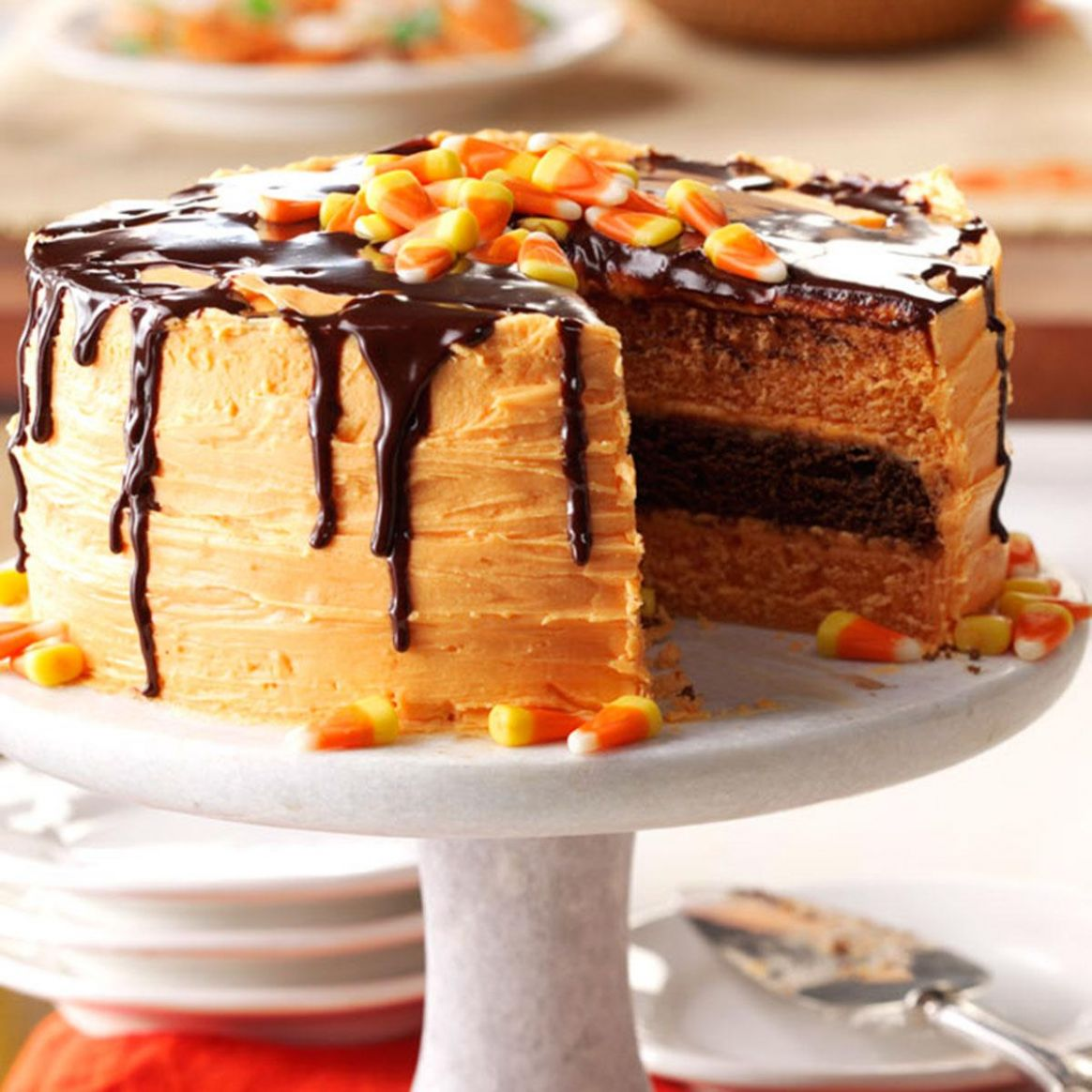 Halloween Layer Cake - Cake Recipes Easy At Home