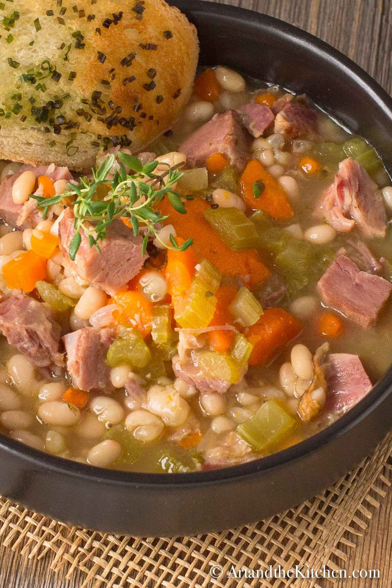 Ham and Bean Soup - Soup Recipes Using Ham