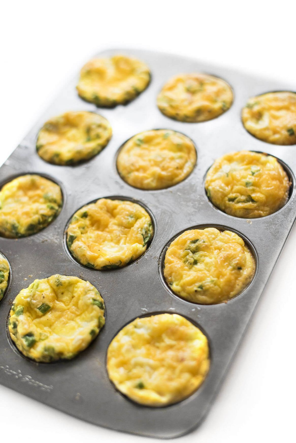Ham and Cheese Baked Egg Cups - Recipe Egg Ham Muffin Tin