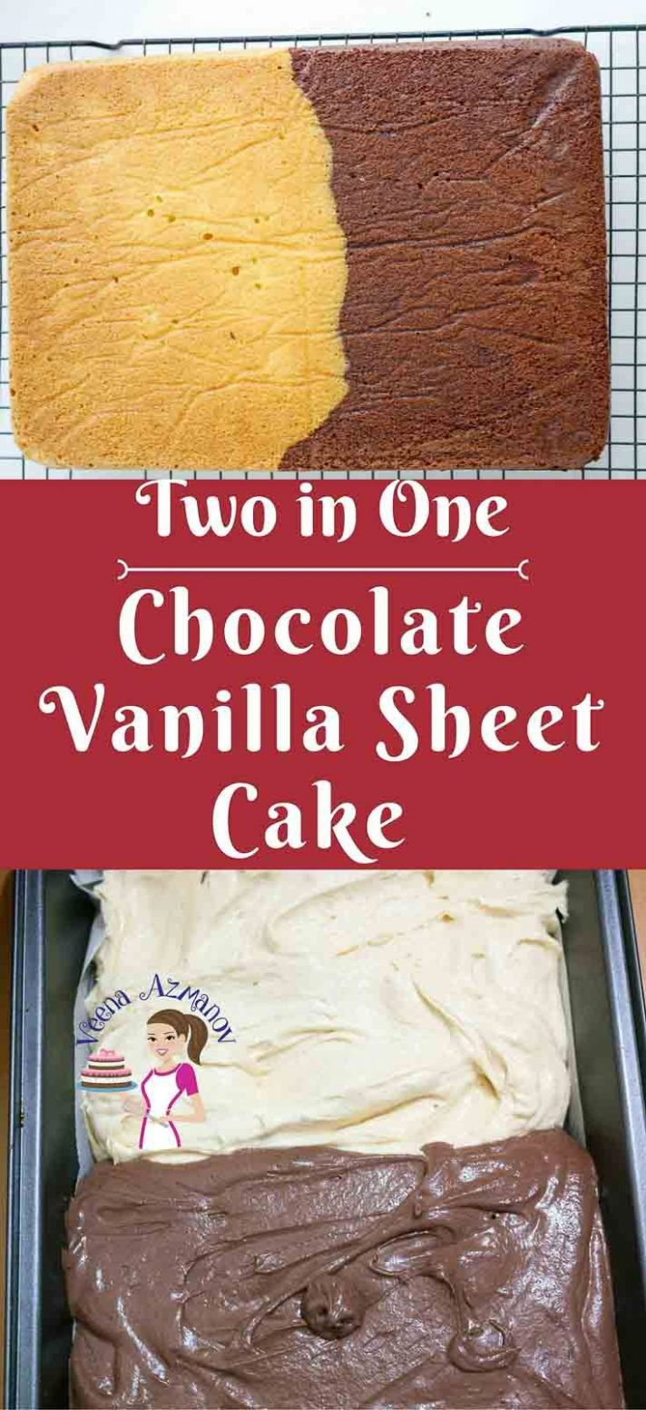 Having more than one flavor is always a treat in cakes just like ...