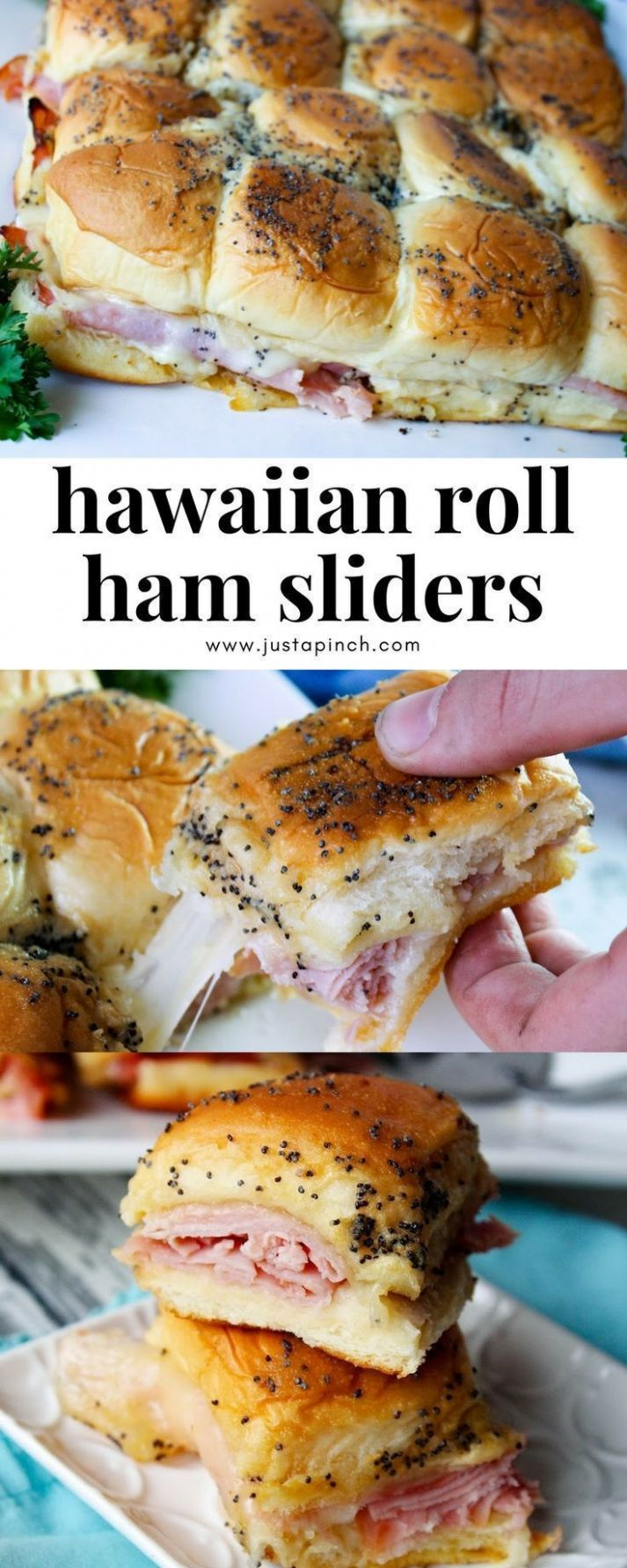 Hawaiian Roll Ham Sliders