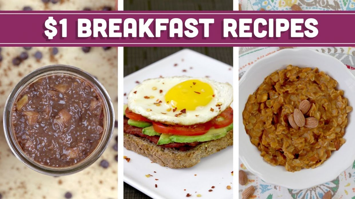 Healthy $10 Breakfast Recipes - Easy Budget Meals with Vegan Options! - Mind  over Munch