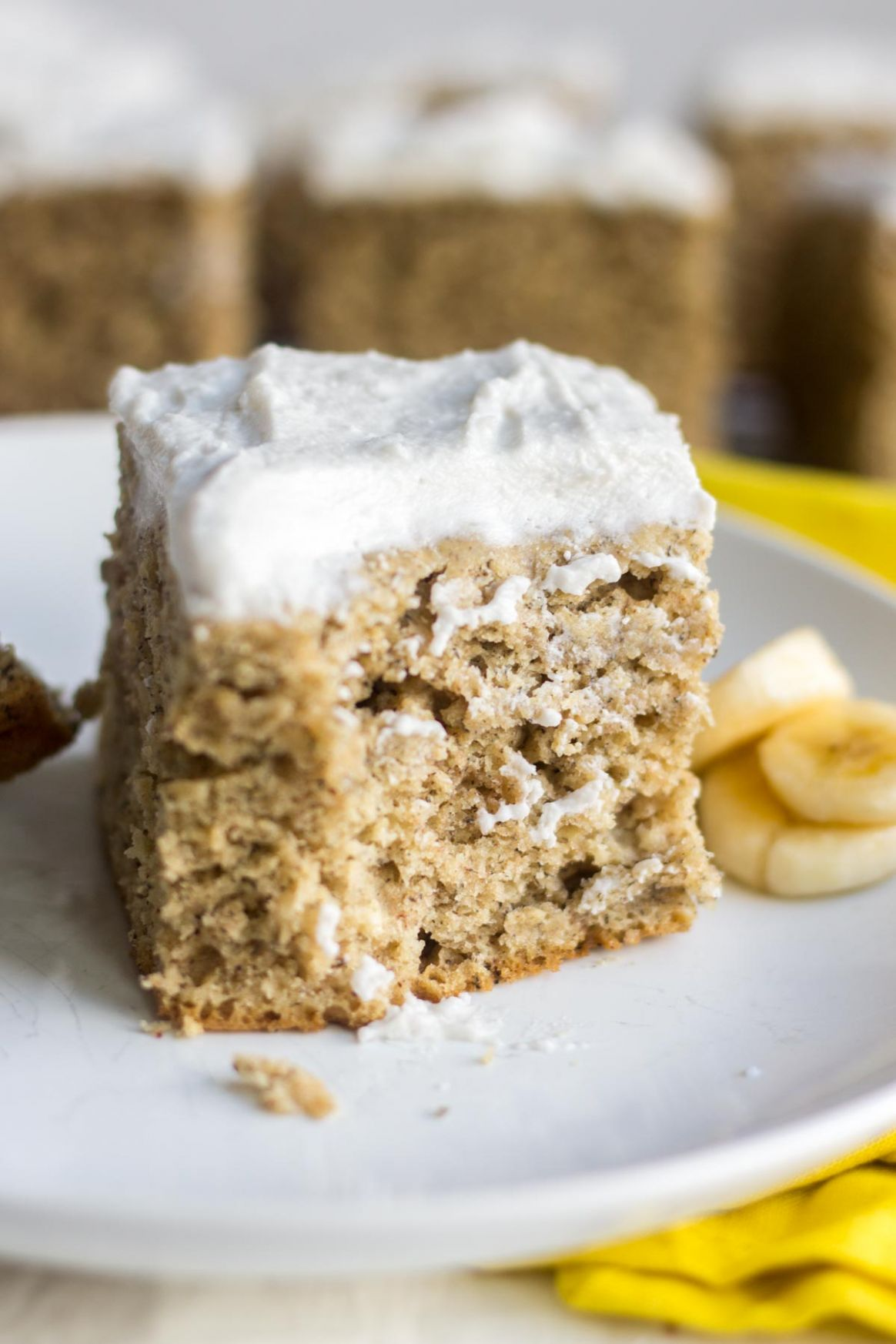Healthy Banana Cake - Cake Recipes Low Sugar