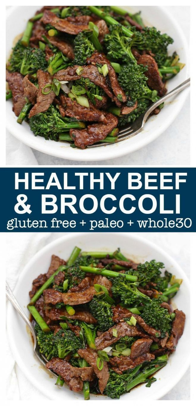 Healthy Beef and Broccoli - Beef Recipes Healthy Easy