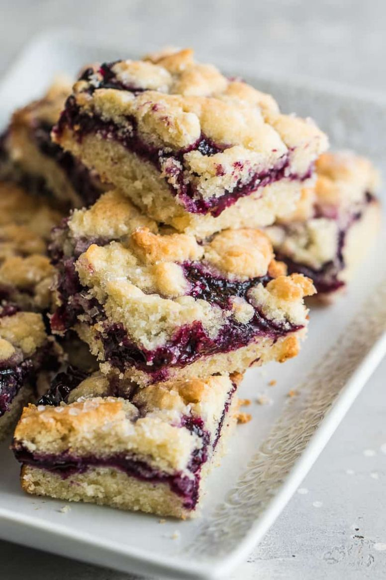 Healthy Blueberry Breakfast Bars | Healthy Fitness Meals