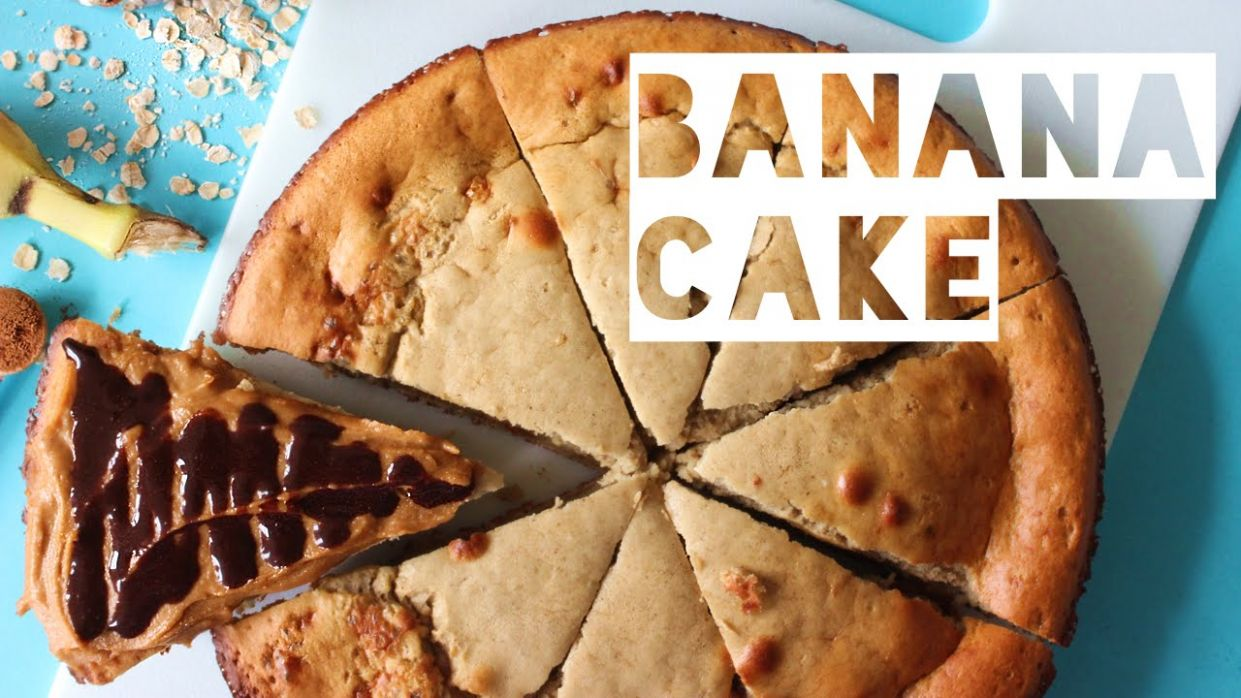 Healthy Cake Recipe | How To Make Low Calorie Banana Cake - Cake Recipes Low Calorie