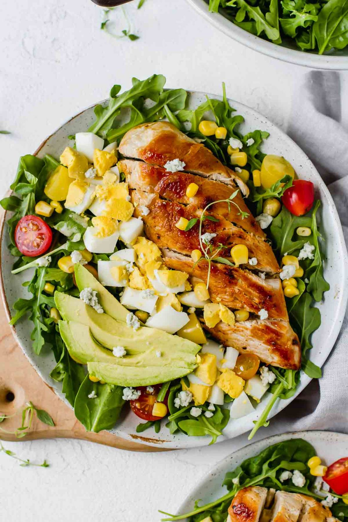Healthy Chicken Cobb Salad Recipe - Healthy Chicken Recipes