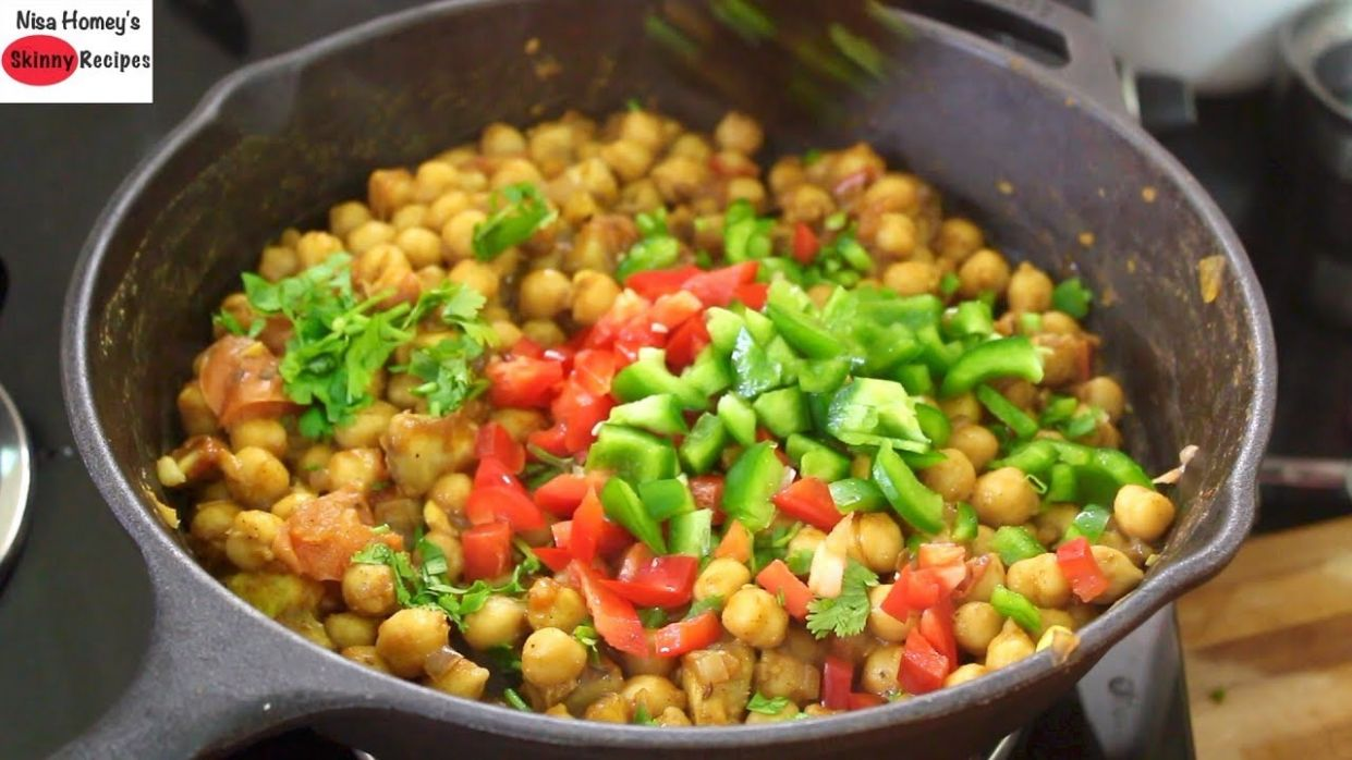 Healthy Chickpea/Channa Salad Recipe For Weight Loss -Easy Dinner ..