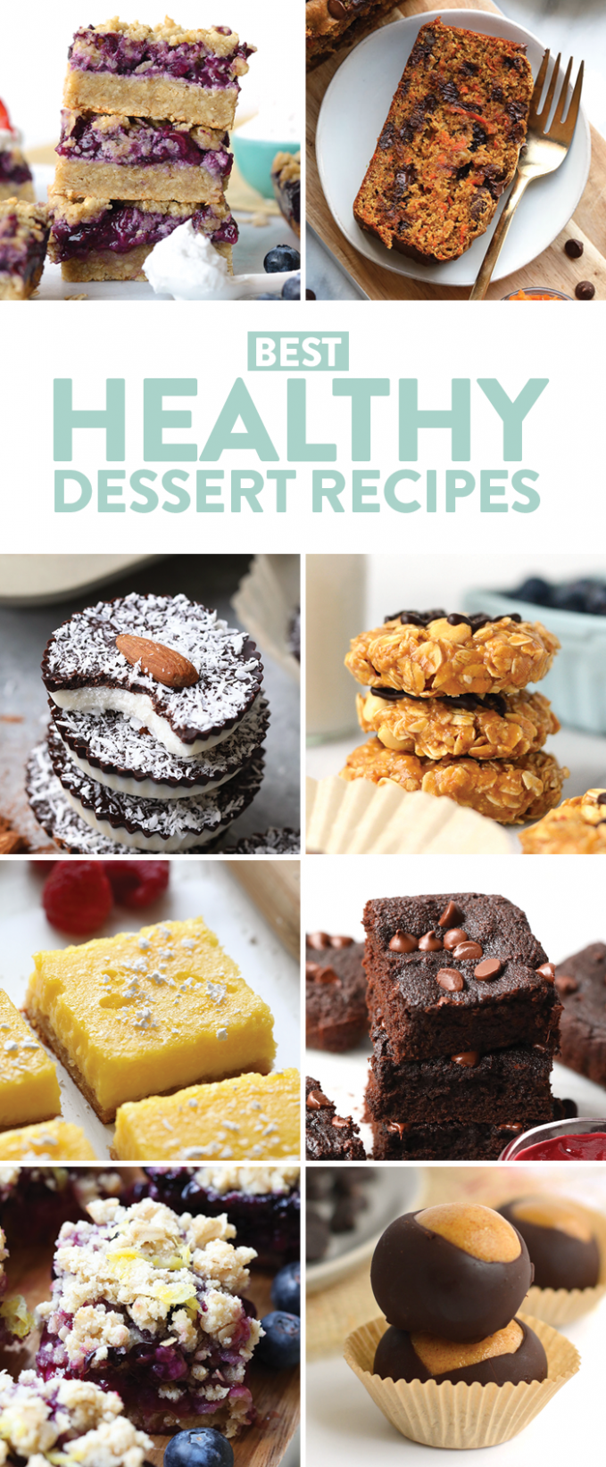 Healthy Dessert Recipes (gluten-free, paleo, & vegan) - Fit Foodie ...